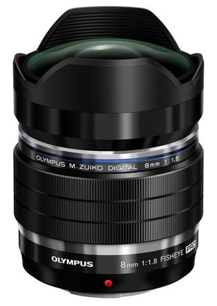 Olympus M.ZUIKO ED 8mm f/1,8 Pro
