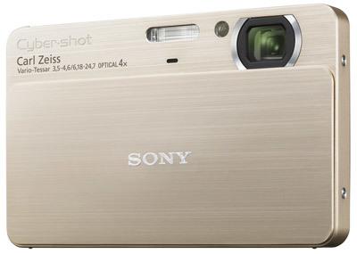 Sony DSC-T700 zlatý