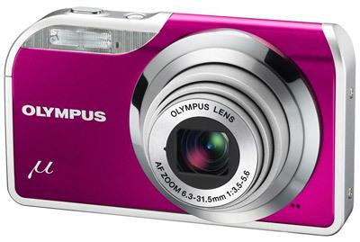 Olympus Mju 5000 fialový