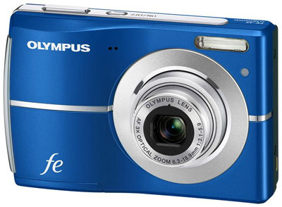 Olympus FE-45 modrý