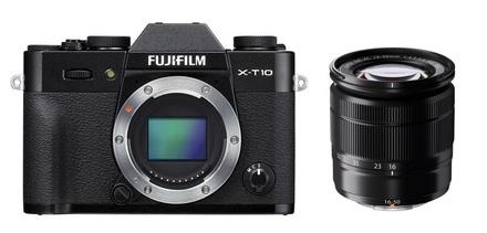 Fujifilm X-T10 + 16-50 mm II + 50-230 mm černý
