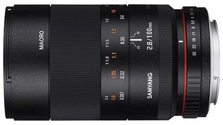 Samyang 100mm f/2,8 pro Sony E