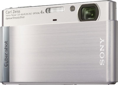 Sony CyberShot DSC-T90 stříbrný