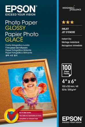 Epson papír Photo Glossy 10x15cm 100 listů