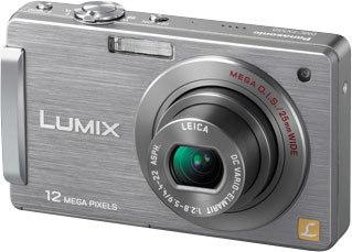 Panasonic Lumix DMC-FX550 stříbrný
