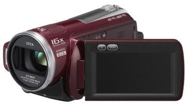 Panasonic HDC-SD20 červená + brašna DFV40 zdarma!