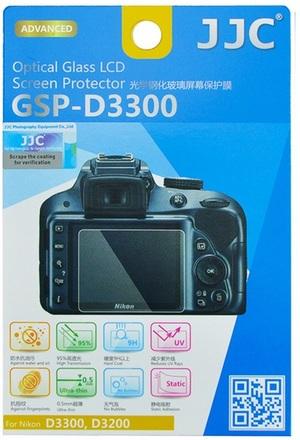 JJC ochranné sklo na displej pro Nikon D3300, D3200