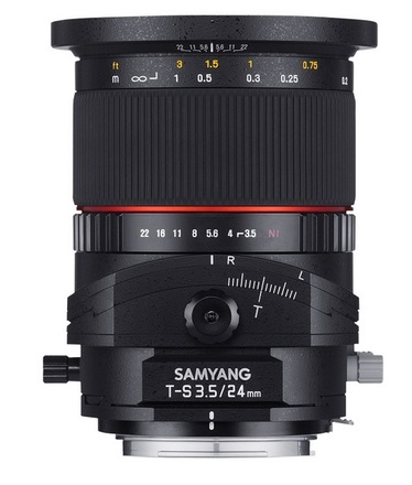 Samyang T-S 24mm f/3,5 ED AS UMC pro Sony E