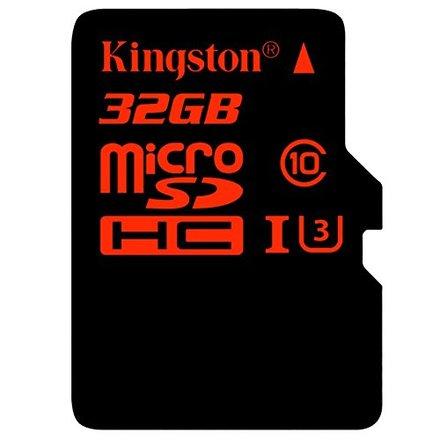 Kingston Micro SD (SDHC UHS-I Class 3) 32GB karta + adaptér SD