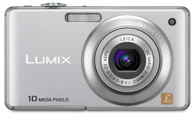 Panasonic Lumix DMC-FS62 stříbrný
