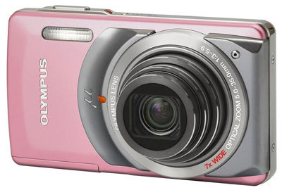 Olympus Mju 7010 růžový