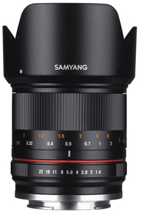Samyang 21mm f/1,4 ED AS UMC CS pro Fuji X