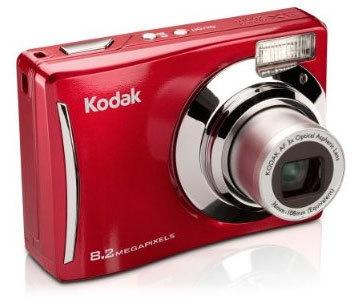 Kodak EasyShare C140 červený