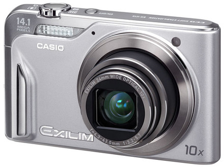 Casio EXILIM H15 stříbrný + pouzdro 50L zdarma! + fotokniha zdarma!