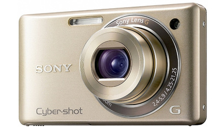Sony CyberShot DSC-W380 zlatý