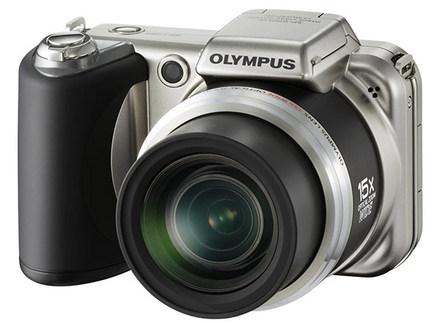 Olympus SP-600UZ stříbrný + 2GB karta + brašna Surrounder 100!