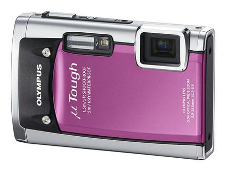 Olympus Mju TOUGH-6020 růžový