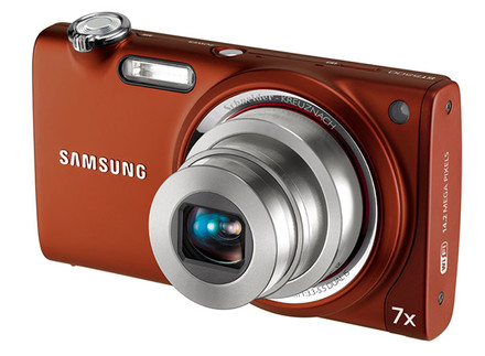 Samsung ST5500 oranžový