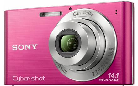 Sony CyberShot DSC-W320 růžový + fotbalový dres + mini míč zdarma!