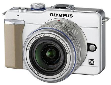 Olympus E-PL1 bílý + 14-42 mm