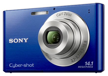 Sony CyberShot DSC-W330 modrý