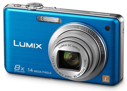 Panasonic Lumix DMC-FS30 modrý