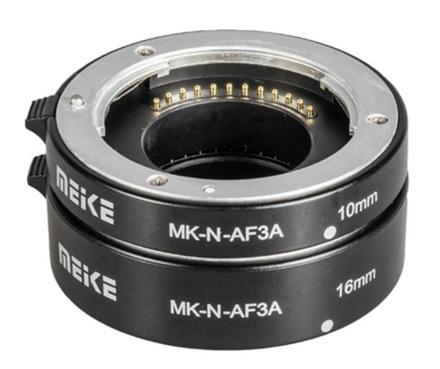 Meike sada mezikroužků 10mm/16mm pro Nikon 1