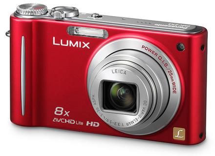 Panasonic Lumix DMC-ZX3 červený