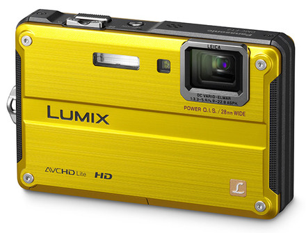 Panasonic Lumix DMC-FT2 žlutý