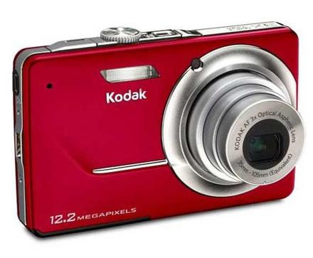 Kodak EasyShare M341 červený