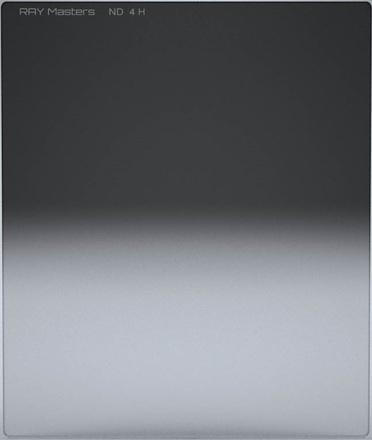Ray Masters 84x100mm ND 4 filtr 0,6 tvrdý