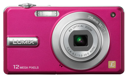 Panasonic Lumix DMC-F3 růžový