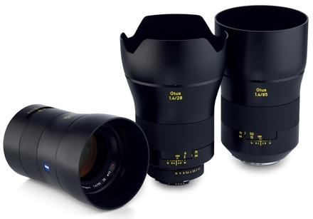 Zeiss Otus 28mm + 55mm + 85mm Videoset ZE pro Canon