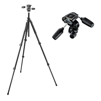Manfrotto 055XPROB + 804RC2