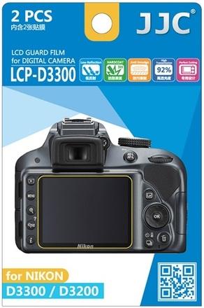 JJC ochranná folie LCD LCP-D3300 pro Nikon D3200 a D3300
