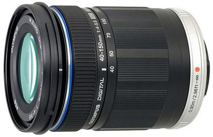 Olympus M.ZUIKO 40-150 mm F 4,0-5,6 Digital ED černý