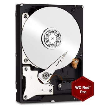 "Western Digital Red Pro 4TB HDD, 3.5"" NAS WD4001FFSX"