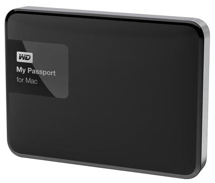 """Western Digital My Passport pro Mac 2TB, 2.5"""" USB 3.0, černý"""