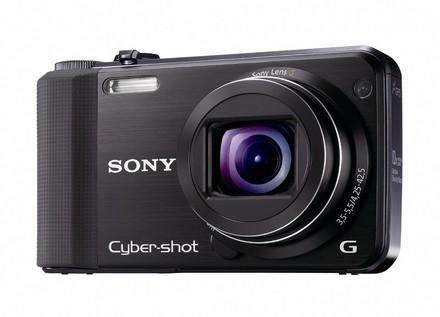 Sony CyberShot DSC-HX7 černý + nahradní akumulátor zdarma!