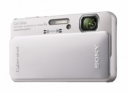 Sony CyberShot DSC-TX10 stříbrný
