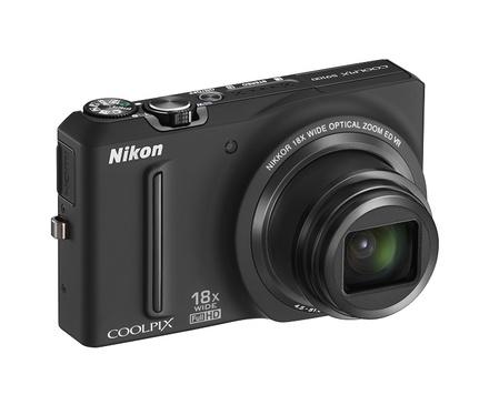 Nikon Coolpix S9100 černý