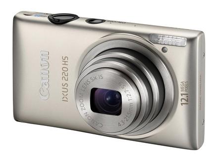 Canon IXUS 220 HS stříbrný