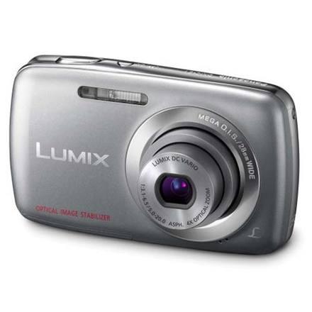 Panasonic Lumix DMC-S1 stříbrný