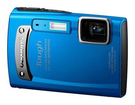 Olympus TG-310 modrý