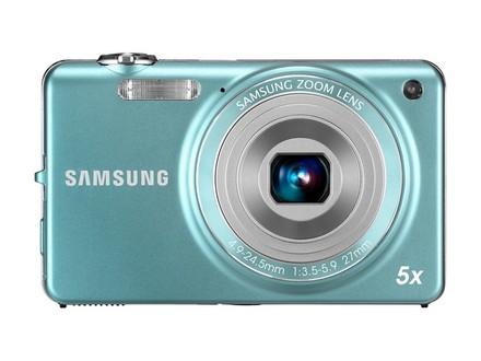 Samsung ST65 tyrkysový + telefon E1080i zdarma!