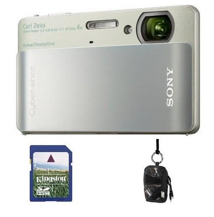 Sony CyberShot DSC-TX5 stříbrno-zelený + 4GB karta + pouzdro 60G! + fotokniha zdarma!
