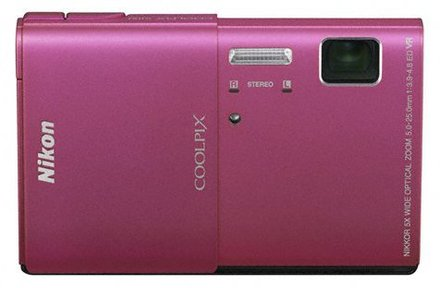 Nikon Coolpix S100 růžový