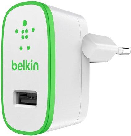 Belkin univerzální USB nabíječka 12W, bílá