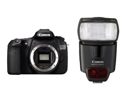 Canon EOS 60D + blesk 430 EX II