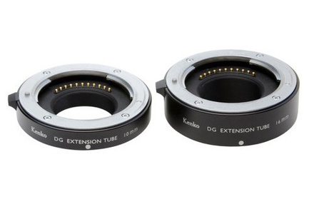 Kenko sada mezikroužků 10mm/16mm DG pro Micro 4/3